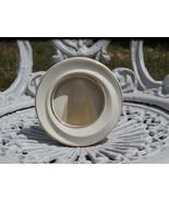 Circle Shaped Lenox Photo Frame, Ivory White wi... - $9.89