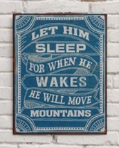 Baby Boy Nursery Decor Wall Decor When He Wakes... - $15.99