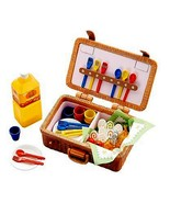Re-Ment Everyones Lunch Picnic Basket Meal Set ... - $169.95