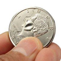 Close-Up Magic Street Trick Bite Coin Bite and Restored Half Dollar - One Ite... image 2