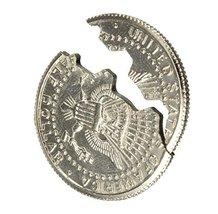 Close-Up Magic Street Trick Bite Coin Bite and Restored Half Dollar - One Ite... image 6