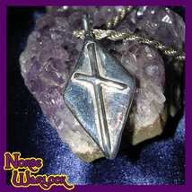 Naudhiz Rune Pendant! Overcome All Obstacles! Success! Enlightenment! Vi... - $124.99