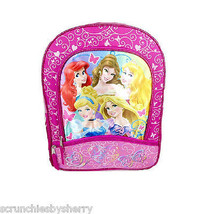 Disney Princess Backpack Ariel Cinderella Belle Aurora Rapunzel  - $19.95
