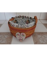 LONGABERGER ROUND HAPPY MOTHER'S DAY 1995 BASKET RETIRED  - $41.57