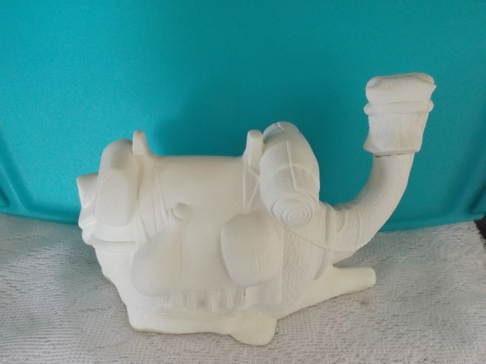 Ready To Paint Nativity Camel Lying Down 3 x 6 Ceramic Bisque
