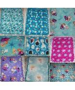 Disney Frozen Anna Elsa Olaf Kristoff Fleece Baby Blanket Pet Lap Hand T... - $39.95