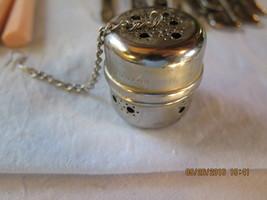 Vintage Tea Bag Holder W Germany Silver Plate - $12.50