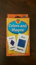 Colors and Shapes Flash Cards (Brighter Child F... - $3.35