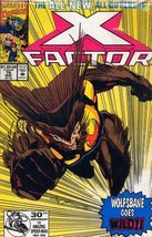 X Factor : 76 March 1992 : Wolfbane Goes Wild [Comic] - $5.95