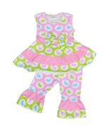 Unique Baby Girls Pastel Easter Bunny Outfit (7/XXL, Pink) - $24.99