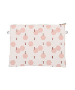 Large Vinyl Envelope Clutch Purse Bag w/ Removable Shoulder Strap Bee Hi... - $21.77