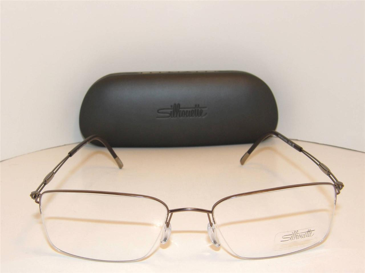 69e4f91945 New Authentic SIlhouette Titanium TITAN Eyeglasses SIL 5278 6052 55mm  Austria