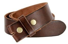 """BS040 Vintage Full Grain Leather Belt Strap 1.5"""" Brown 40 - $14.84"""