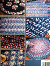 Variegated Rgus to crochet: 8 triple-strand rug designs by anne halliday... - $11.25