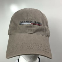 Tommy Hilfger hat men's one size fits all baseball cap cotton Brown tan - $29.70
