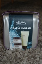 Ahava Clear and Hydrate Set $150 Moisturizer, Mud Mask, night replenisher NEW - $89.99