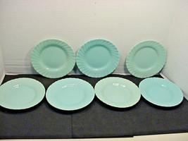 Franciscan Coronado Aqua Matte 7 Dessert Plates Blue - $35.64