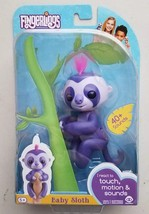 AUTHENTIC - WOWWEE FINGERLINGS - FINGERLING PURPLE BABY SLOTH MARGE EXCL... - $29.02