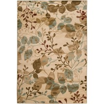 Abstract Area Rug Floral Woven Living Room Indo... - $274.96