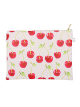 Large Vinyl Envelope Clutch Purse Bag w/ Remova... - $21.77