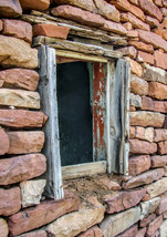 Abandoned Ranch, Adobe, Window,  Southwest Art,... - $20.00