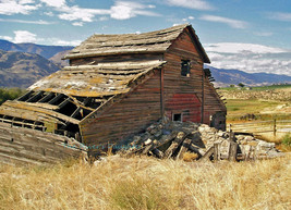 Abandoned Barn, Old Haynes Ranch, Original Phot... - $26.00