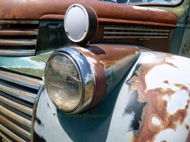Old Truck,  Taos, New Mexico, Southwest Art, Or... - $26.00