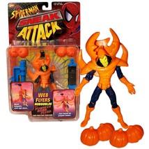 Toy Biz Year 1997 Marvel Comics Spider-Man Sneak Attack Web Flyers 5 Inc... - $44.99