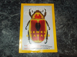 National Geographic Magazine February 2001 Jewel Scarabs - $2.99