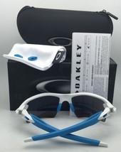 New OAKLEY Sunglasses FLAK 2.0 XL OO9188-19 White Frame w/ Fire Iridium Lenses