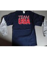 NWT NEW Blue & Gray USA Olympics Team USA Long Sleeve tshirt Youth XL Ex... - $27.60