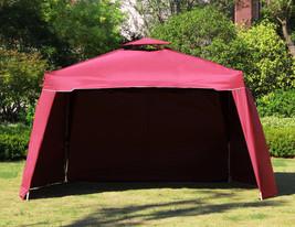 "117"" x 117"" Gazebo Replacement Canopy Top Cover Dual Tier Outdoor Garden... - $99.99+"