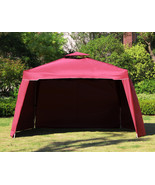 "117"" x 117"" Gazebo Replacement Canopy Top Cover Dual Tier Outdoor Garden... - $35.00"
