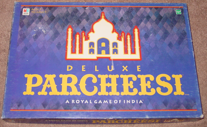 Primary image for PARCHEESI DELUXE ROYAL GAME OF INDIA 1999 PARKER BROTHERS COMPLETE EXCELLENT