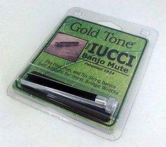 String Accessorie Gold Tone Iucci Banjo Mute BM-IUCCI 2010-07-29 Electro... - $33.89