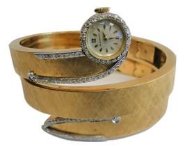 Movado 14K Yellow Gold Diamond Watch Bracelet - $5,100.00