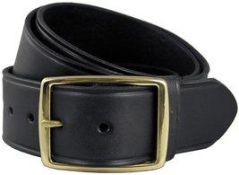"Penn's Gold Men's Leather Work Belt Uniform Belt 1 3/4"" Wide, Black 36 - $28.65"