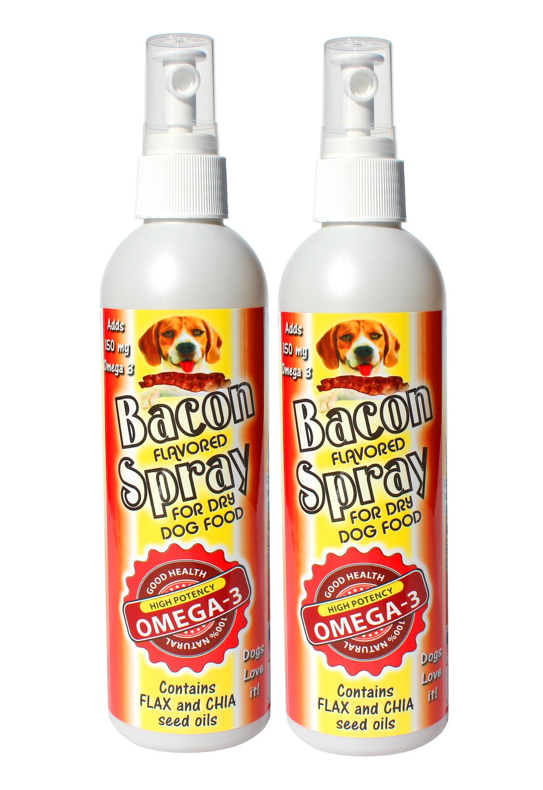 Bacon Spray Omega 3 Dog Food Topper