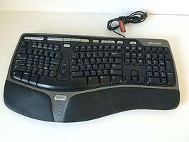 Microsoft Natural Ergonomic Keyboard 4000 v1.0 KU-0462 X802610-001 - $759,53 MXN