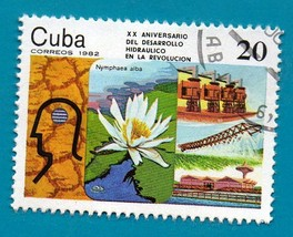 Used Cuban Postage stamp 1982 20th Anniversary of The Hydraulic Developm... - $1.99