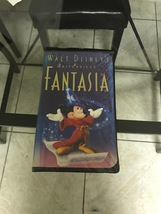 "Collectible Original Classic VHS ""Fantasia"" Movie - $35,000.00"