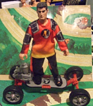 Action Man Skateboard Extreme Hasbro 1999 Very Rare 12 inch  - $15.00