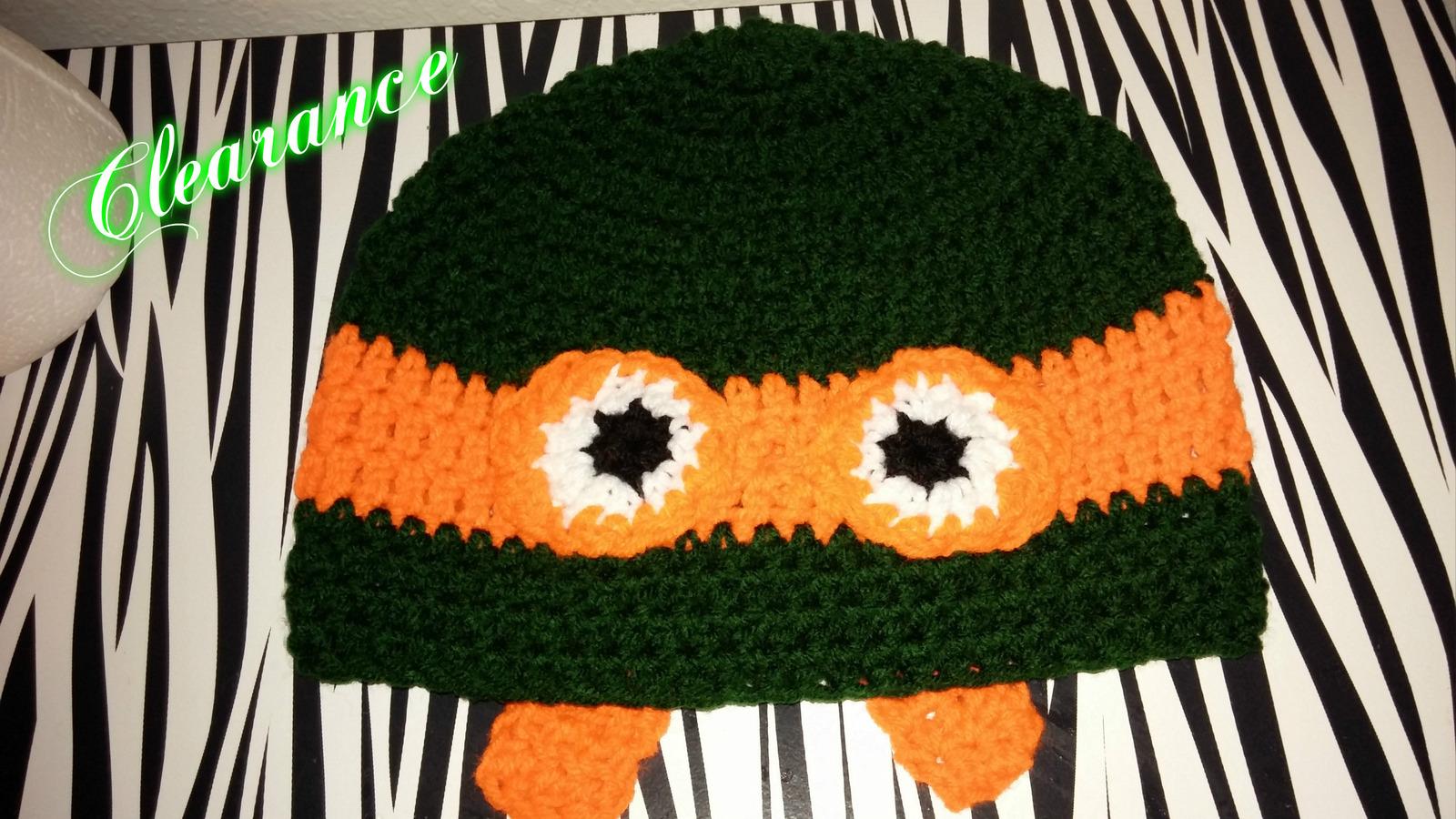 6eed7ac4460 Ninja Turtles (Michael angelo) Kids Crochet and 50 similar items