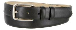 Armana Genuine Italian Calfskin Leather Dress Belt for Women(Smooth Black, 50) - $27.71