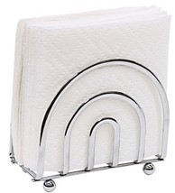 Home Basics Chrome Collection Napkin Holder h50... - $14.79