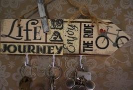 Key holder, Wood, Rustic, Vintage key rack and ... - $7.99
