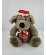 "15"" Vintage KRIS MUTT Plush Stuffed DAYTON HUDSON TARGET CHRISTMAS Puppy... - $16.99"