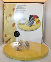 Sagaform Rotating Condiment Lazy Susan Tray 2knives Set Platter Serving ... - £48.43 GBP