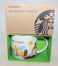 Starbucks You are Here Collection Orange County OC CA USA Coffee Mug Cup... - $37.83
