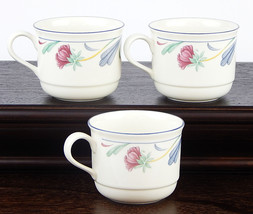 Set of (3) 8 oz. Cups, MINT Condition! Poppies ... - $8.75